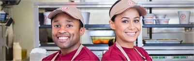 NOW HIRING $12/HOUR SHIFT LEADERS!